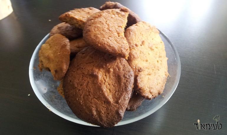 עוגיות טחינה וסילאן (צילום: שובל אביטוב)
