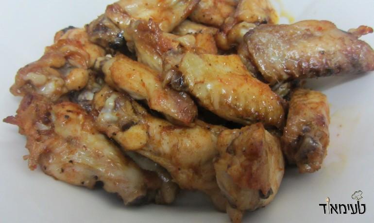 כנפיים בתבלינים בתנור