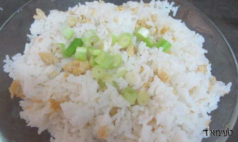 אורז עם חביתה יפנית