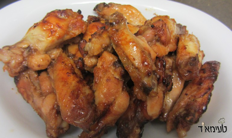 Oven Baked Sweet Chili Wings