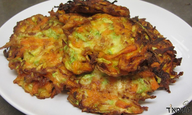 Zucchini and Carrot Latkes